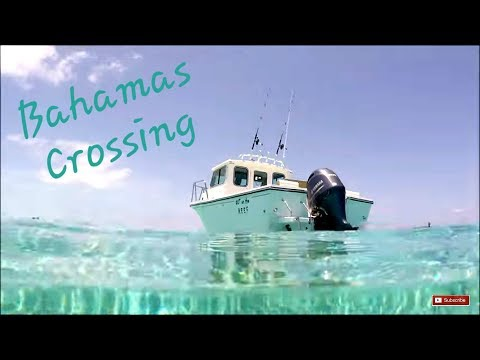 Solo Trip Bimini & Berry Islands In A Crooked PilotHouse Boat Miami To Bimini Bahamas Creossing