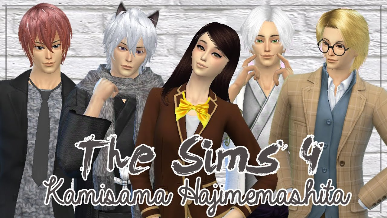 Sims 4 Anime Characters : The sims create a sim anime character kamisama