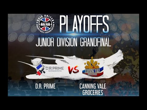 AUBA Junior Division GrandFinals Canning Vale Groceries VS D.R. Prime