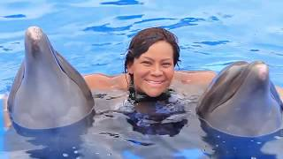 Swimming with Dolphins in Puerto Vallarta!