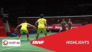 DAIHATSU YONEX JAPAN OPEN 2018 | Badminton WD - SF - Highlights | BWF 2018