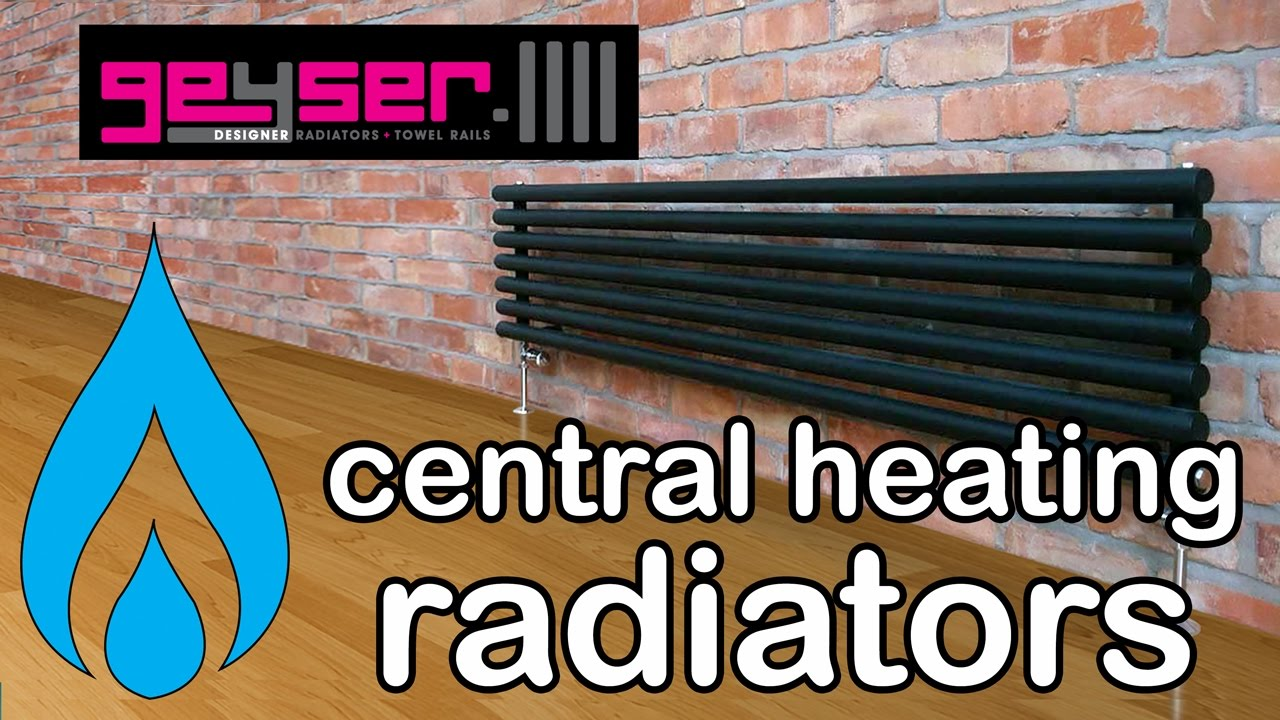 Designer Radiators - Central Heating - Guide to Heat Output, Styles ...
