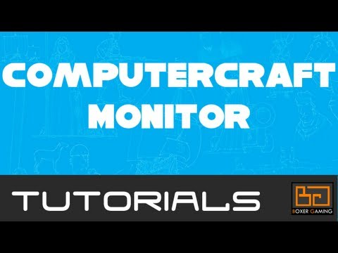 Tekkit ComputerCraft Tutorial: Monitor