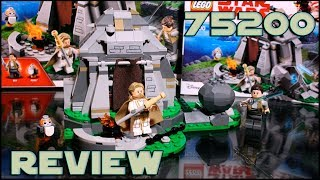 Lego Star Wars 75200 The Last Jedi Ahch-To Island Training Review | Обзор на ЛЕГО Последние Джедаи
