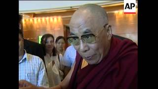Dalai Lama says visit to Taiwan  is for spiritual reasons