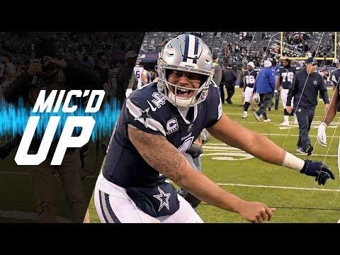 "Dak Prescott Mic'd Up vs. Giants ""Hey Dez Listen, But Don't Pay Attention"" | NFL Sound FX"
