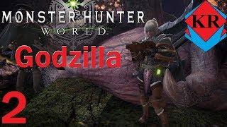 Monster Hunter: World Fighting Godzilla