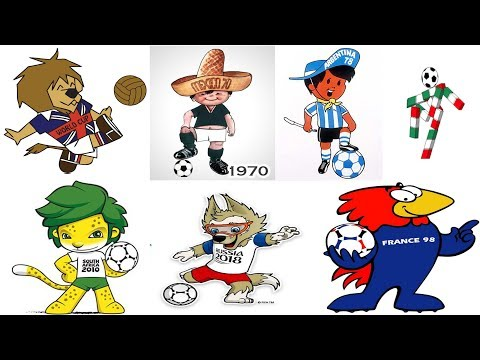 The Evolution Of FIFA World Cup Mascot 1966 – 2018   Best & Worst World Cup Mascots