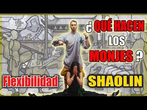 FLEXIBILIDAD DE MONJES SHAOLIN | SUS EJERCICIOS DIARIOS
