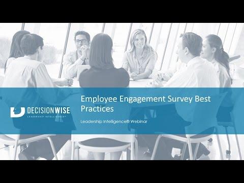 Employee Engagement Survey Best Practices