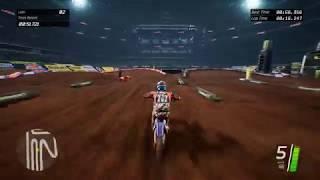 Supercross The Game   Fast lap   Arlington 51.8