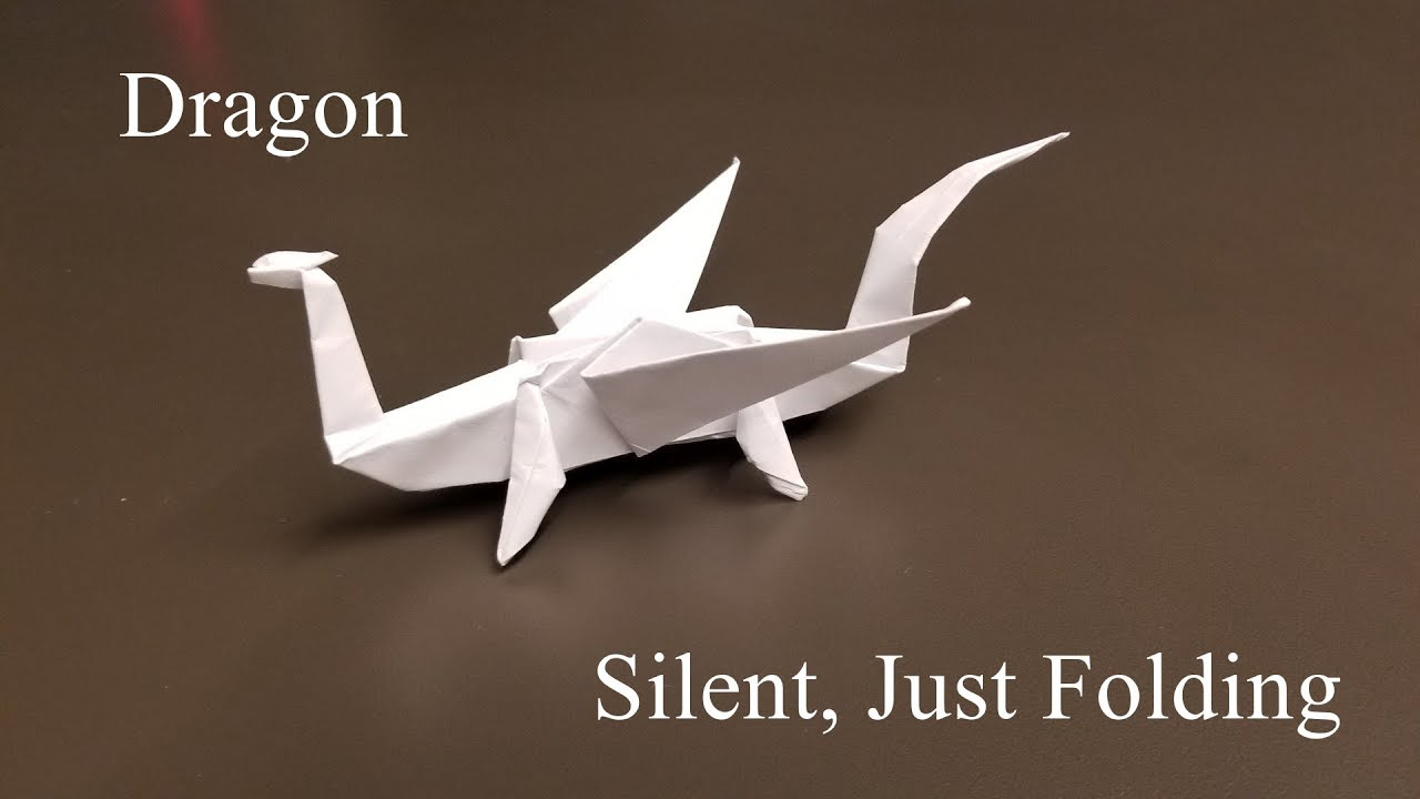 Origami Easy Dragon - How To Make a paper dragon - YouTube | 720x1280
