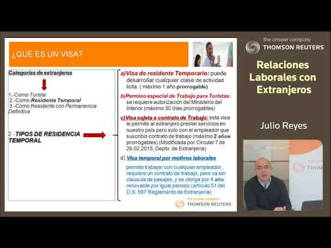 Relaciones Laborales con Extranjeros