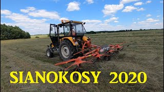 Sianokosy 2020 Ursus c-360 3p, Massey Ferguson 3070. 3090 Sipma 276/1 Kuhn GA 4101, GF 5000