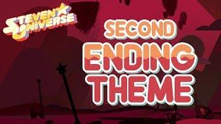 Steven Universe - Second Ending Theme (Complete Edit) - A Single Pale Rose