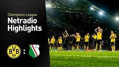 Netradio-Highlights: Borussia Dortmund - Legia Warschau 8:4