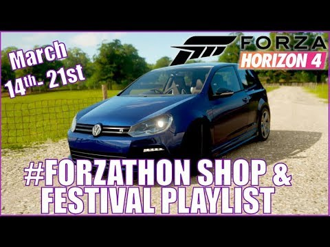 Forza Horizon 4 #Forzathon Shop and Festival Playlist! March 14th-21st thumbnail
