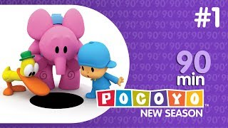 Pocoyo - NEW SEASON (4) | 90 Minutes with Pocoyo! [1]