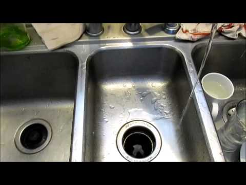 How clean your kitchen sink waste disposal