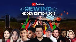 YouTube 2017 in Reimform! Rewind Geheidert