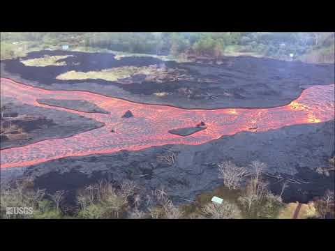 Kīlauea Volcano — Video Compilation of Lower East Rift Zone