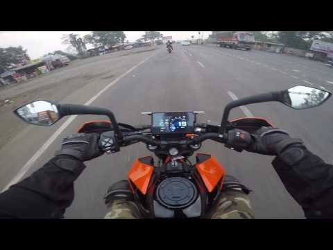 2017 KTM DUKE 390 | Morning Ride | Mumbai to Nashik | Kasara Ghat
