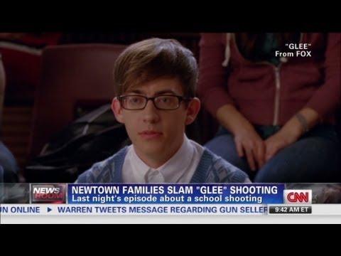 "Newtown families slam ""Glee"" shooting"