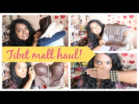 Bangalore fashion haul | Tibet mall haul!