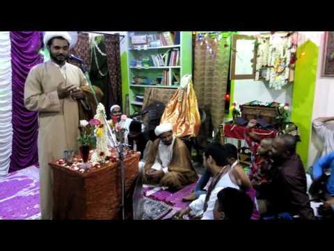 Darbar e reza Chittoor AP 2016 jashn e Ghadeer Moulana virasath ali