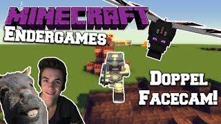 DOPPELFACECAM, LIEBE, PANIK, ACTION, BOGENSKILLS - ALLES DABEI - Minecraft Endergames | EsKay