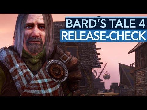 Bugs vermiesen The Bard's Tale 4 Release. Was machen die Entwickler?