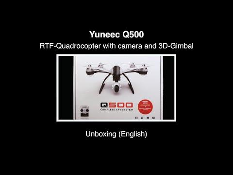 Yuneec Q500 #01 - Unboxing (English)