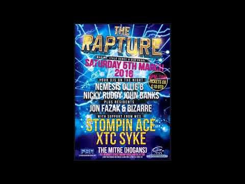 DJ Nemesis Mc Ace Mc Ronez @ The Rapture 5.3.2016
