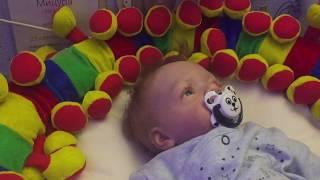 Обложка на видео о Беспокойная ночь с Брайном. Видео с куклой реборн.