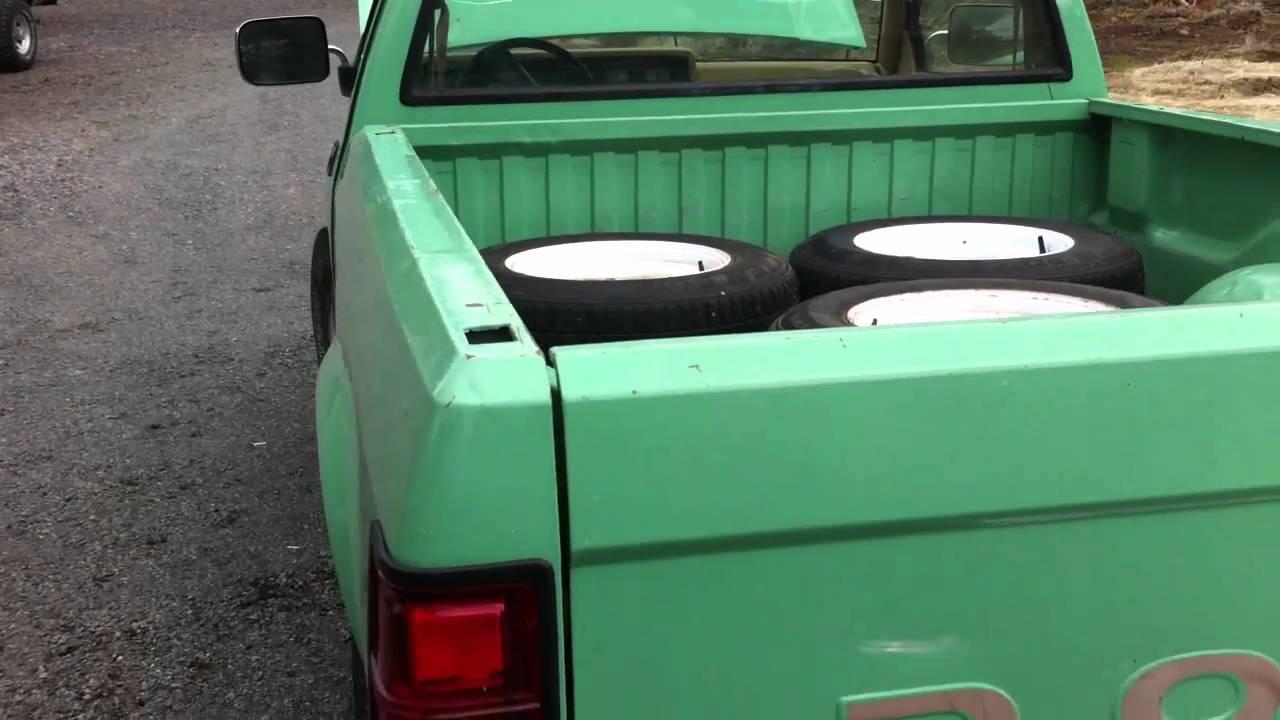 1988 Dodge Dakota 4x4 Truck - YouTube