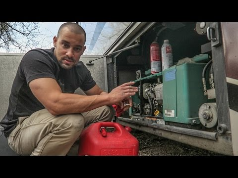 Onan Generator Error Code 36 ~ Finished Cabinet Door ~ Fuel Pump & Filter Removal ~ S3E16