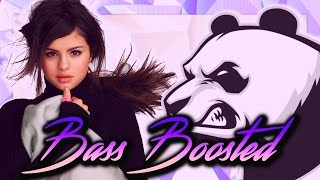 Panda vs everything is not what it seems bass boosted - selena gomez & desiigner [wowp]
