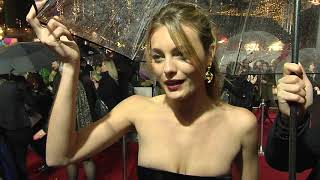 Mortal Engines London World Premiere - Itw Leila George (official video)