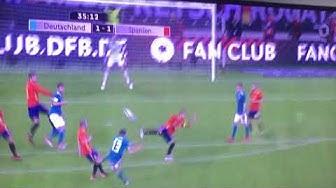 Müller Tor Freundschaftsspiel Vs Spanien