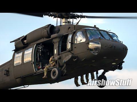 UH-60 Blackhawk Demo - America's Freedom Fest 2019