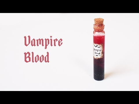 how to make vampire blood