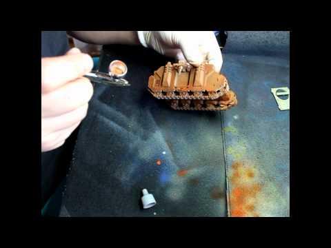 advance airbrushing *rust part 1*