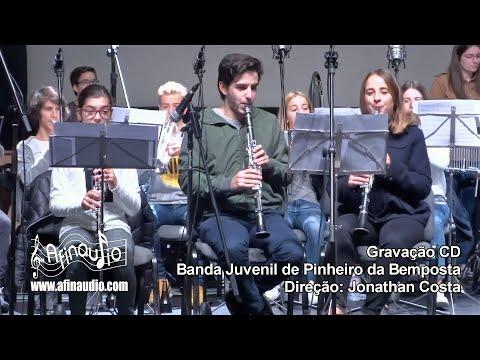 ⏺️ 2018 Gravação CD - Banda Juvenil de Pinheiro da Bemposta