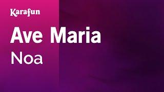 Karaoke Ave Maria - Noa *