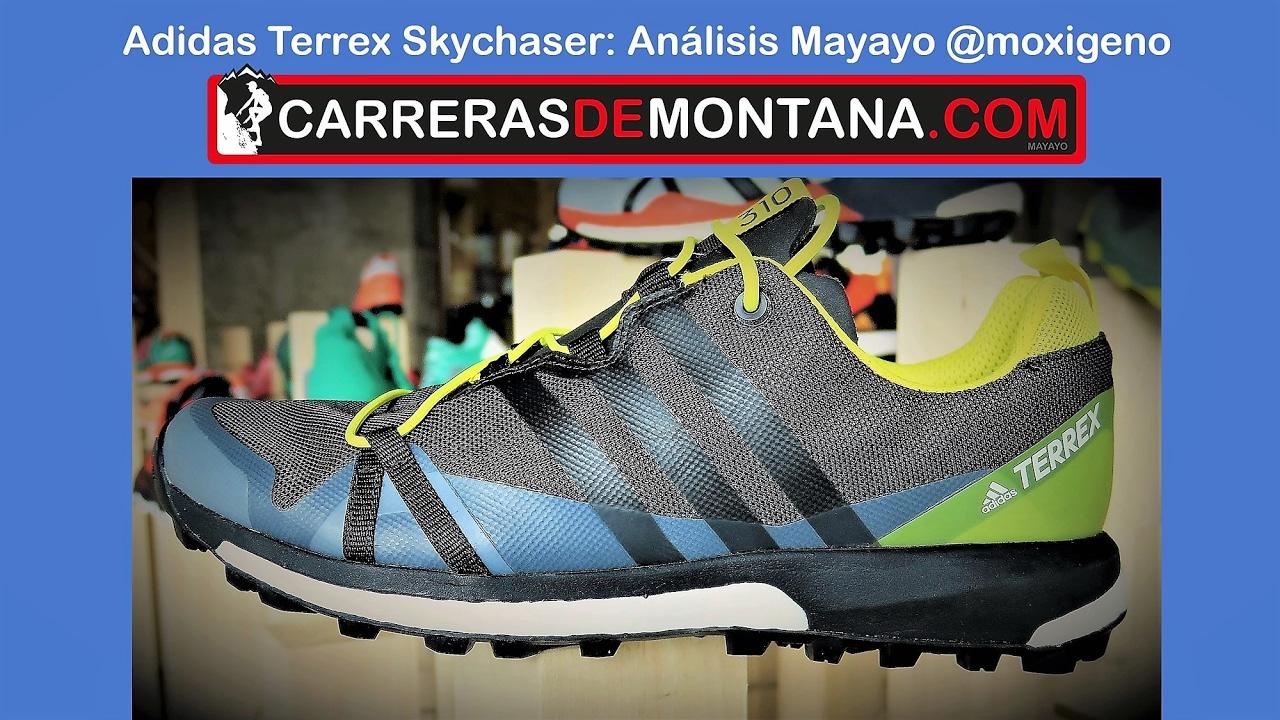 Adidas Terrex Skychaser: Zapatillas trail running. Análisis por Mayayo @moxigeno