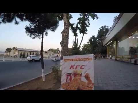 KFC в Ташкенте. Памятник Гагарину. Чиланзарский Торговый Центр.