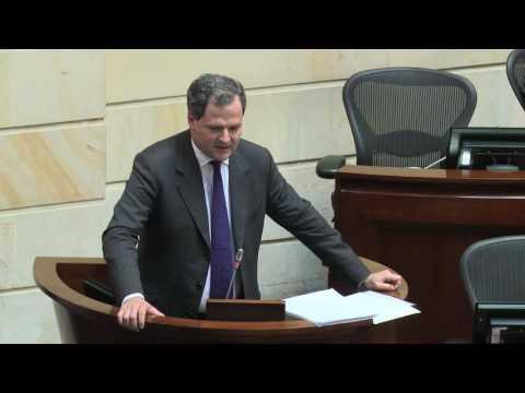 Sergio Jaramillo en debate Senado sobre refrendación Acuerdo de Paz