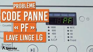 Code Panne PF - Lave-Linge LG