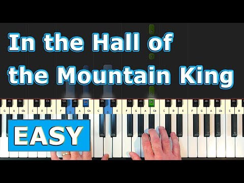 IN THE HALL OF THE MOUNTAIN KING - Piano Tutorial [Sheet Music] thumbnail