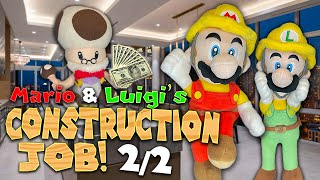 Mario and Luigi's Construction Job! (2/2) - Super Mario Richie